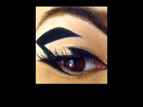 Graphic eyeliner nero tendenze AI 2015 - 16 - VideoTrucco