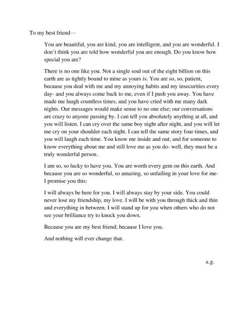 Best 25 Best friend letters ideas on Pinterest