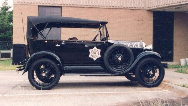 1928 Ford Model A Touring Car - Dallas PD, TX