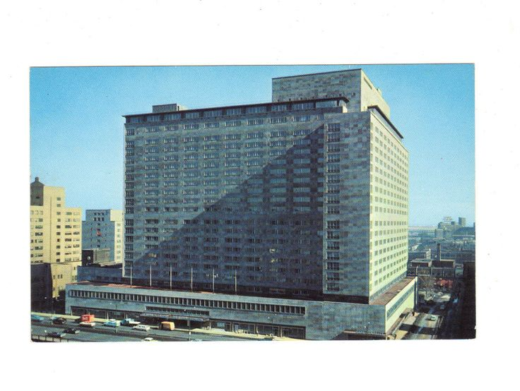 CPSM - CANADA - MONTREAL - LE NOUVEL HOTEL REINE ELIZABETH