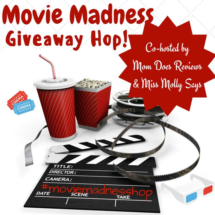 Sign up today for our Movie Madness Giveaway Hop #bloggerswanted #moviemadnesshhop #movies