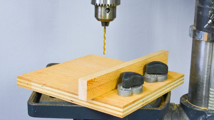 Drill Press Fence with Magnetic Locks! #woodworking #tools