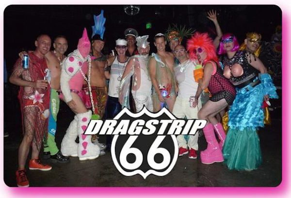 """Dragstrip 66: The Frockumentary"" flashback press via NewNowNext!"