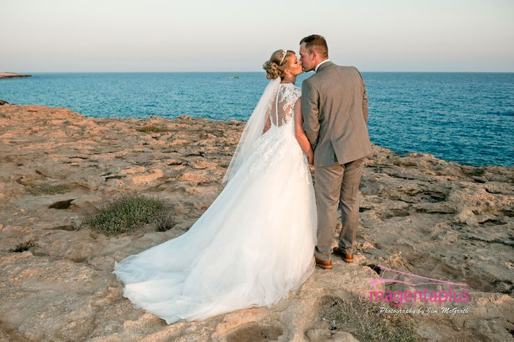 Stunning wedding at the Sunrise Beach Hotel, Protaras in Cyprus of Laura & Jason photographed by Magentaplus Photography - Paphos.