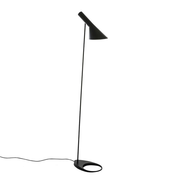 Italux Volta czarna Lampa Podłogowa - KosmiczneLampy.pl