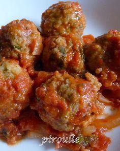 boulettes de merlan a la sauce tomate