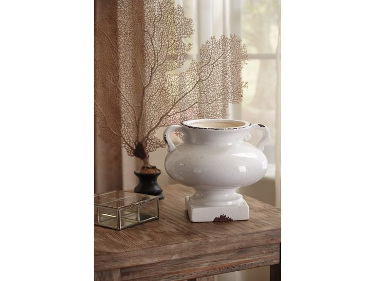 The Accents Diedra Antique White Urn by Signature Design by Ashley at  Furniture Superstore - NM in the Albuquerque, Los Ranchos De Albuquerque,  Rio Rancho, ... - 24 Best North Shore Dreams Images On Pinterest Rio Rancho, Rancho