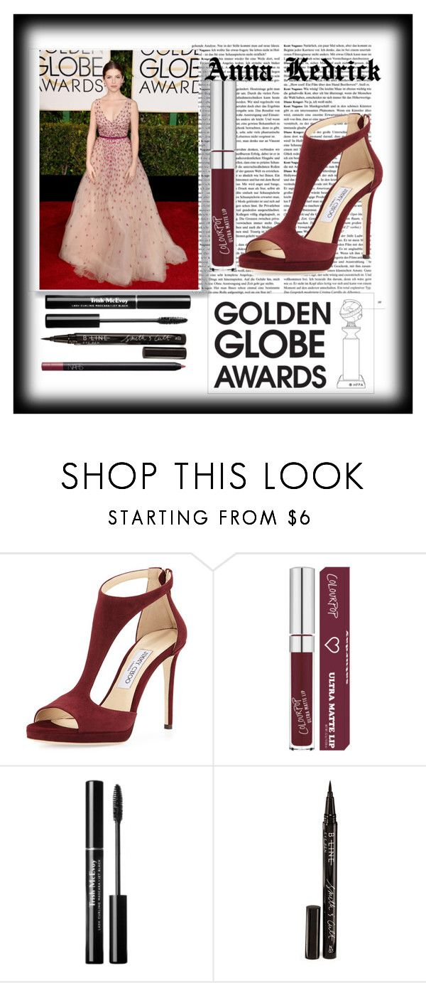 """""""Anna Kedrick"""" by bestqueenever ❤ liked on Polyvore featuring Disney, Jimmy Choo, Smith & Cult and NARS Cosmetics"""