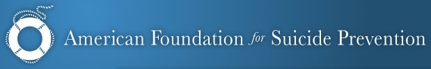 www.afsp.org  The American Foundation for Suicide Prevention #AFSP, is the leading national not-for-profit organization exclusively dedicated to understanding and preventing suicide through research, education and advocacy, and to reaching out to people with mental disorders and those impacted by suicide.