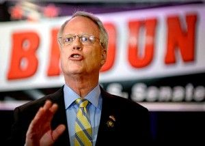 """Paul Broun is giving away an AR-15 as part of his campaign for the Senate. """"How would you like to start off 2014 with a brand new AR-15 for free?"""""""