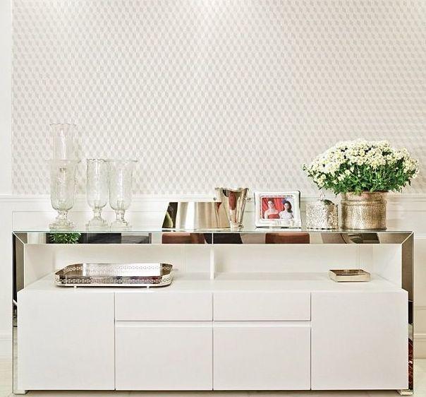 Aparador Branco Laqueado Para Sala ~ 1000+ ideias sobre Aparador De Vidro no Pinterest