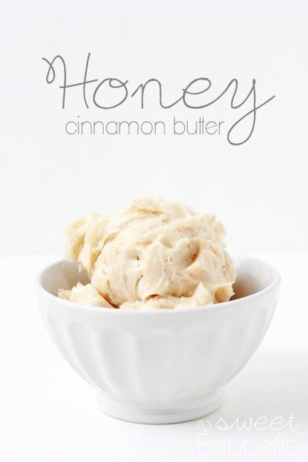 honey-cinnamon-butter. Just like the spread at Texas Roadhouse