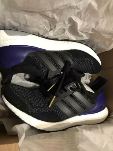d445c2b7b (LIMITED) Men s Adidas Ultra Boost 1.0 B27171 OG Black Gold Purple Size 10