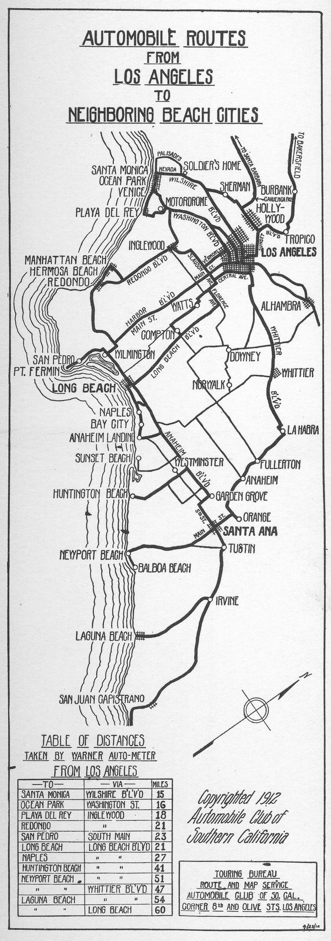 Die Besten California City Map Ideen Auf Pinterest Karte Von - Southern california city map