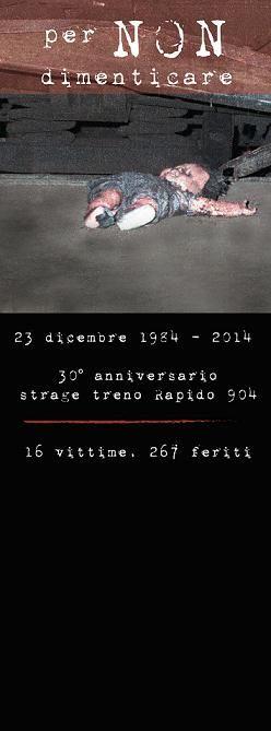 30° ANNIVERSARIO DELLA STRAGE DI NATALE