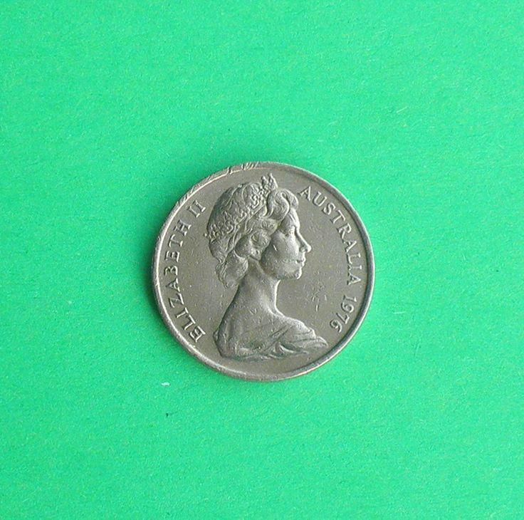 1995 21st Birthday, Australia Queen Elizabeth 5c Coin for Keyring Keyfob…