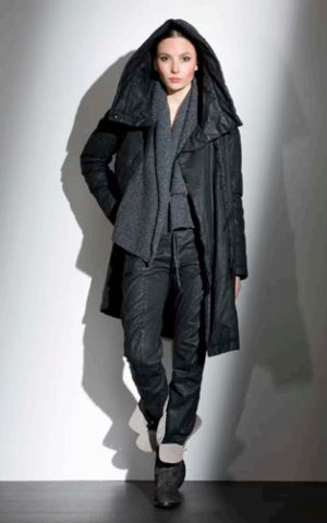 ANNETTE GORTZ KANTO COAL PADDED COAT