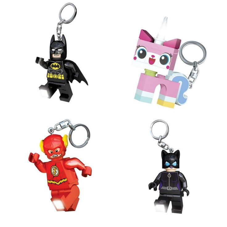 Stylish zipper pulls for kids make fun backpack accessories: LEGO Batman, Unikitty, Flash, and Catwoman keychains: Gift Ideas, Fall Accessory, Baby, Stylish Zipper, Kid, Fall Accessories, Zipper Pulls