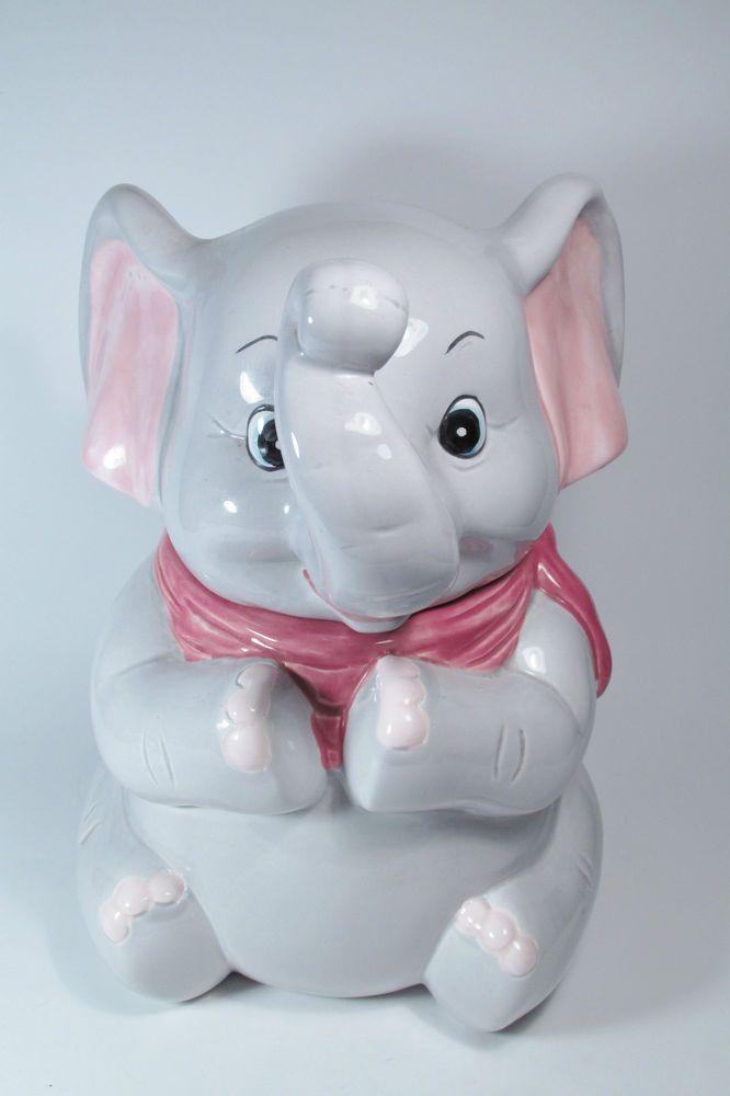 The 42 best images about elephants cookie jars on pinterest jars auction and retro vintage - Vintage elephant cookie jar ...