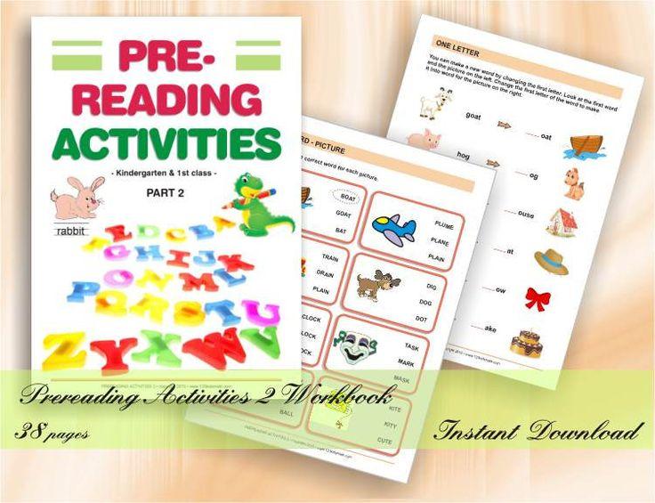 Prereading activities 2 Preschool & Kindergarten