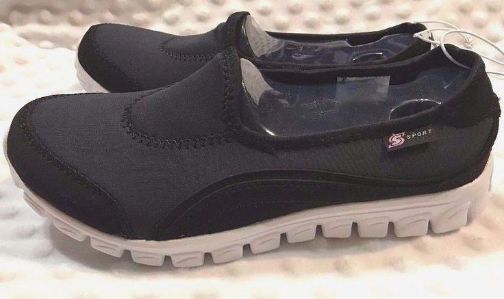 NEW SPORT BY Sketcher Tennis Shoes Women's Slip On #Sketchers #Tennis