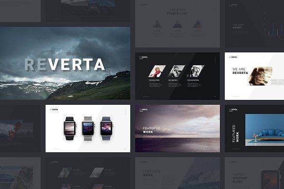Reverta Keynote Template by ReworkMedia on @creativemarket