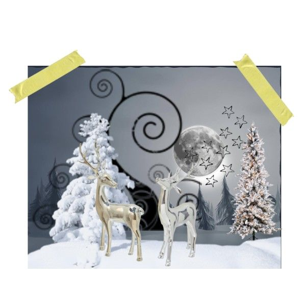 """""""WINTER WOODS"""" by diaparsons on Polyvore"""