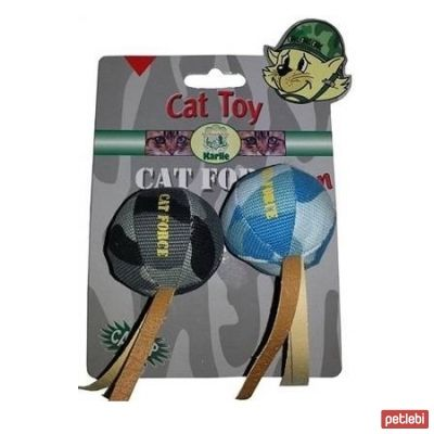 Karlie Catnipli Kamuflaj Top Kedi Oyuncağı