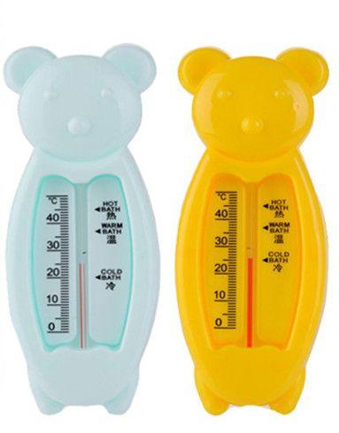 Bóia flutuante Bonito Do Urso Do Bebê Termômetro de Água Brinquedo Do Banho Do Bebê Termômetro Banheira Água Sensor Termômetro Frete Grátis