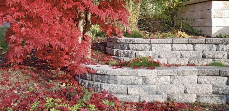Windsor® Mauer von Rinn Betonsteine und Natursteine