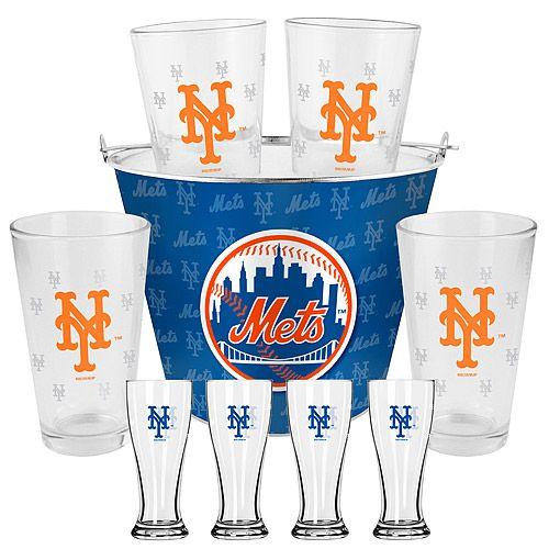 New York Mets Pints And Mini Pilsners Gift Set