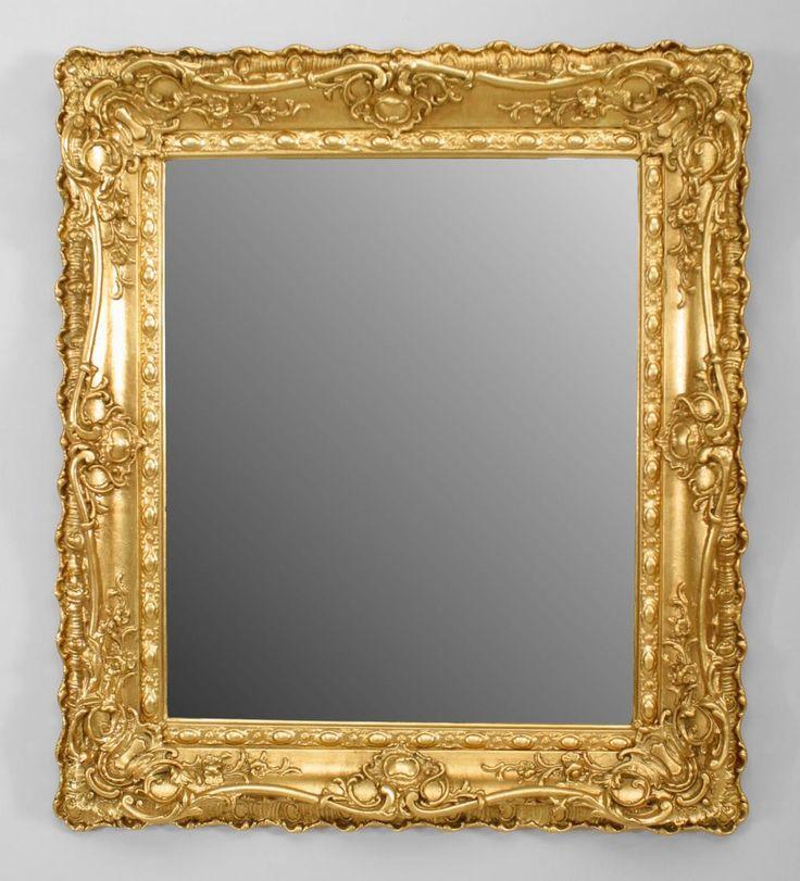 French louis xv mirror wall mirror gilt louis xv for 4 x 5 wall mirror