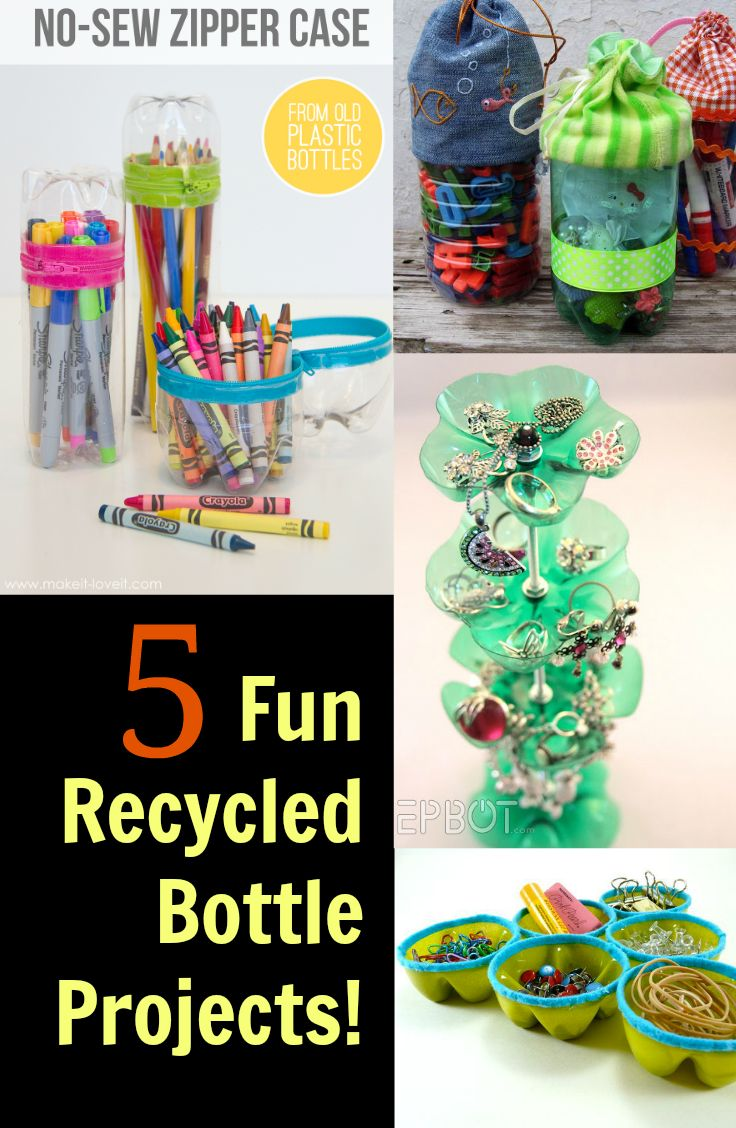 50 best images about things for kids to do on pinterest for Plastic bottle project ideas