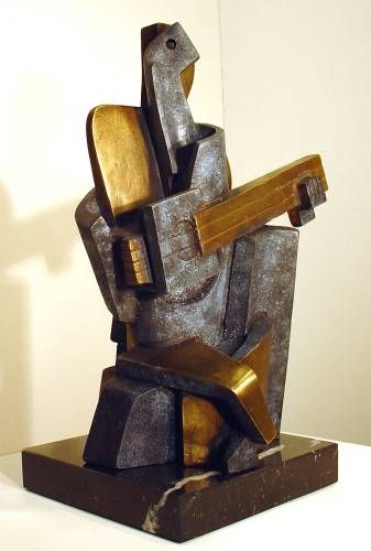 lipchitz jacques man with a guitar -