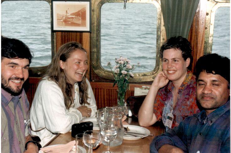 Ship cruise UKKOPEKKA in Nanital, Finland with Norwegian & Finnish friends