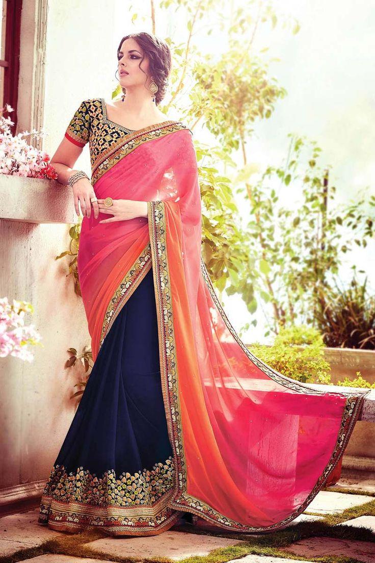 best sarees images on pinterest blouse online party wear