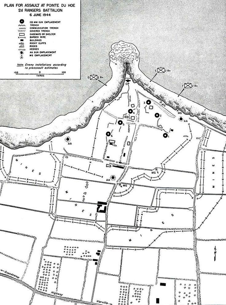 d-day assault map