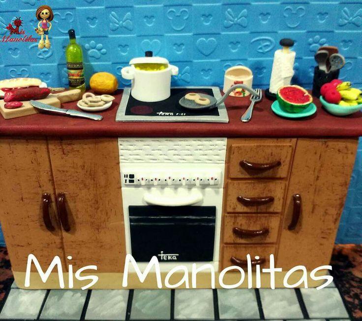 Mejores 89 imágenes de muebles miniaturas en Pinterest | Casas de ...