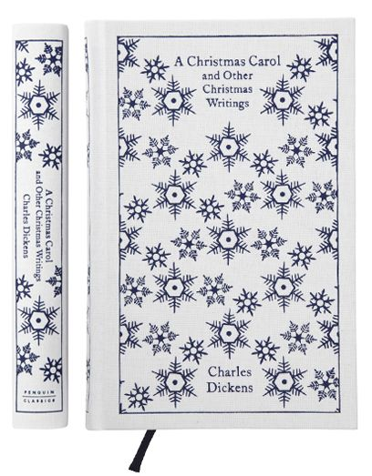 Coralie Bickford-Smith cover illustrations for Penguin. A Christmas Carol and Other Christmas Writings by Charles Dickens.