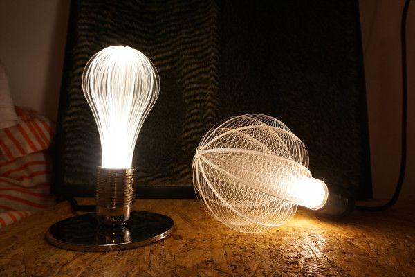 The Cosmic Light of NAP Laser Etched URI LED Light Bulbs //@studiogabe .lighting