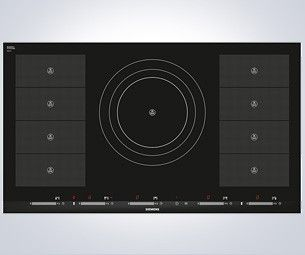 Siemens EH975SZ17E iQ700 flexInduction 90cm Induction Hob in Black