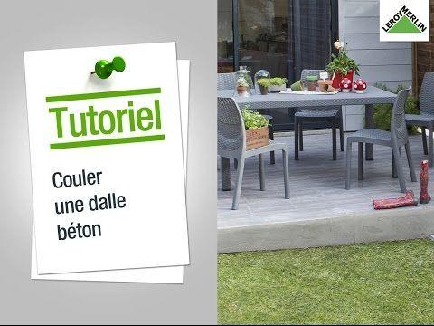 100 best Bricolage images on Pinterest Gardens, Gardening and Deco - Comment Faire Une Dalle De Beton Pour Garage