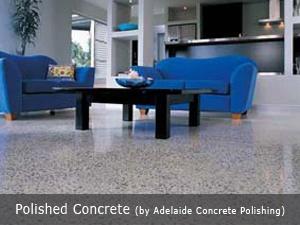 adelaide concrete polishing indoor