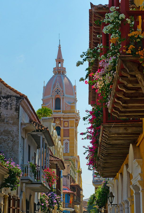 Cartagena, Colombia -- reminds me of New Orleans