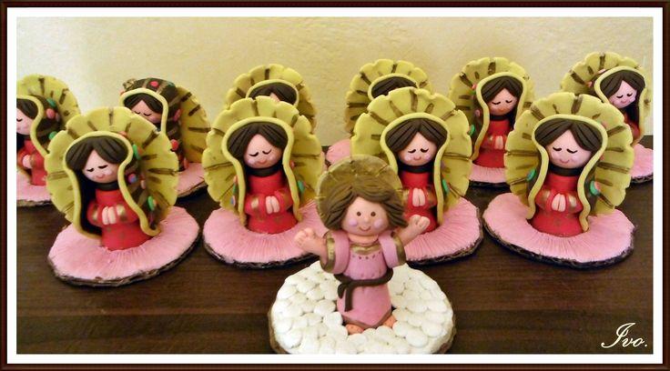 Virgen de Guadalupe plastilina