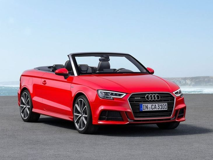 Audi Red In 2020 Audi A3 Cabriolet A3 Cabriolet Audi Convertible