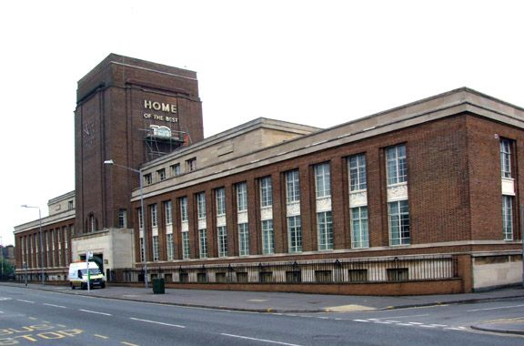 Nottinghamshire - Daybrook, Mansfield Road: Home Brewery Co Ltd (closed 1996) image date 2008