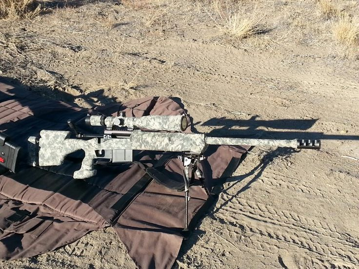 Savage 10BA .338 Lapua wrapped in digital camo