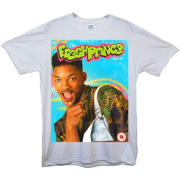 FRESH PRINCE TSHIRT fresh prince of bel air will smith tumblr swag... ($21) ❤ liked on Polyvore featuring tops, t-shirts, shirts, tees, collared t shirt, collared shirt, hipster shirts, hipster tops and unisex tees