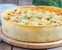 Tarte moutardée aux choux de bruxelles, lardons et parmesan Ingrédients